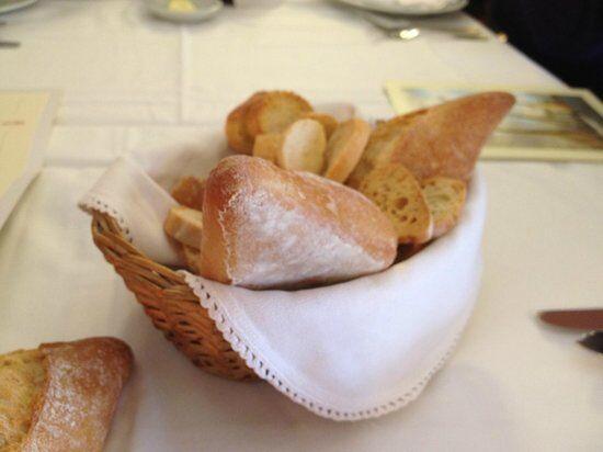 Cesta de pan pequeña